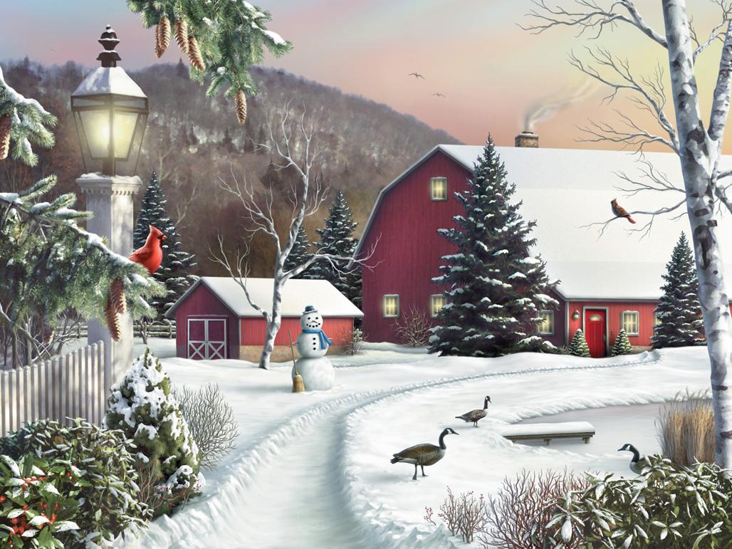 Открытки с зимой красивые, картинках