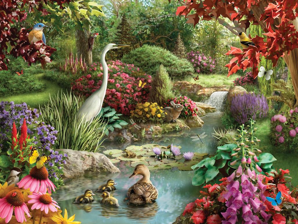 Идет, открытки анимация природа